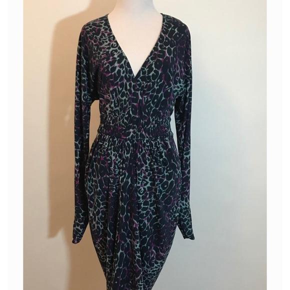 BCBGMaxAzria Dresses & Skirts - BCBGMaxAzria leopard print dress